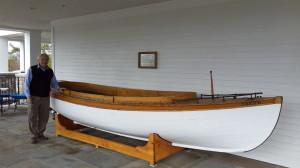 Лодка ПРАВДА  для перевозки русской и японской делегаций между зданием, где шли переговоры, и гостиницей.