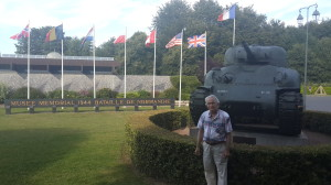 Мемориальный музей сражения 1944 года в Нормандии. Город Байё, департамент Кальвадос в 262 км  от Парижа.