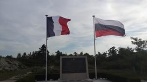 Памятник в городке Реймс воинам Русского Экспедиционного Корпуса, сражавшихся на полях Шампани в 1916-1918 гг. (2)